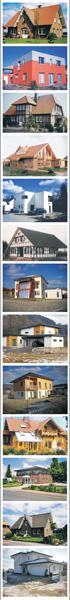 WA Haus Beispiele - Massivhäuser, Fachwerkhäuser, Blockhäuser, Klinkerhäuser, Holzhäuser, Einfamilienhäuser, Doppelhaus, Effizienzhaus, Passivhaus, Ausbauhaus